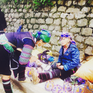 Hmong Ladies in the City