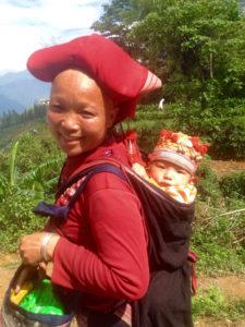 Hmong Mom & Baby